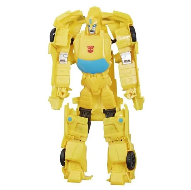 Boneco Transformers Authentic Titan Changers Bumblebee - Hasbro E5883/423061