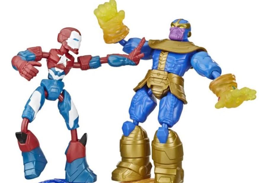 Boneco Vingadores Iron Patriot Vs Thanos - Hasbro E9197