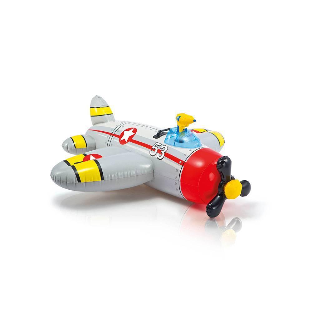 Bote Avião Cinza Com Pistola De Água - Intex