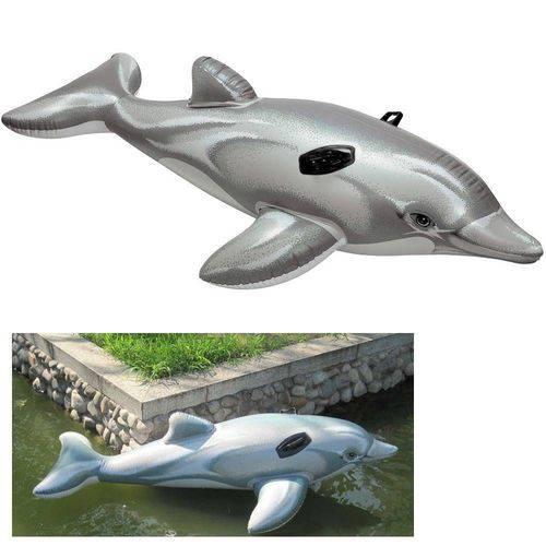 Bote inflavel Golfinho Pequeno Com Alça 58535 Intex