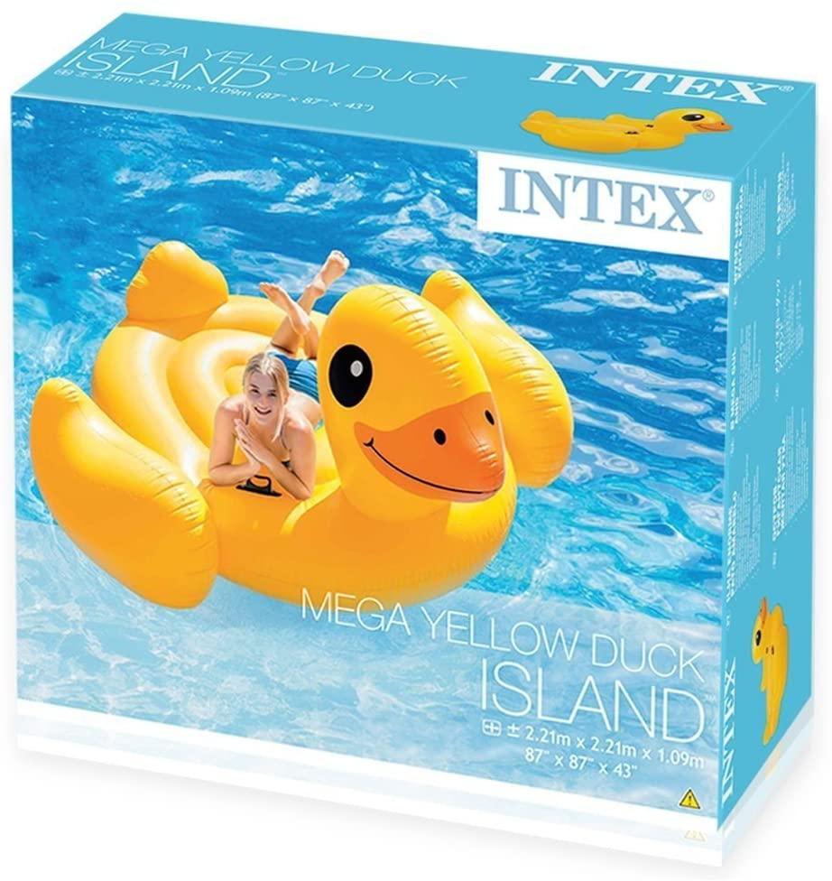 Bote Pato Amarelo Grande - Intex 56286