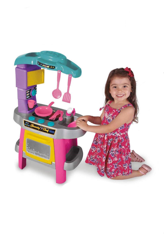 Brinquedo Cozinha Beauty Chef Menina  - Maral 1190