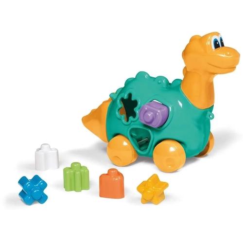 Brinquedo Didático Baby Dinho Amarelo - TaTeTi 716
