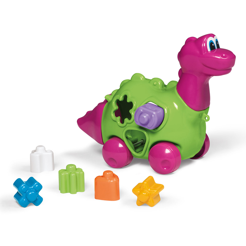 Brinquedo Didático Baby Dinho Rosa - TaTeTi 716