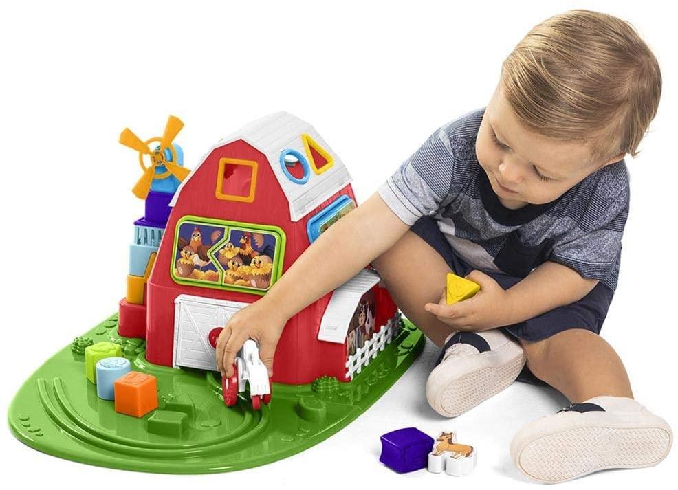 Brinquedo Educativo Fazendinha - TaTeTi 894