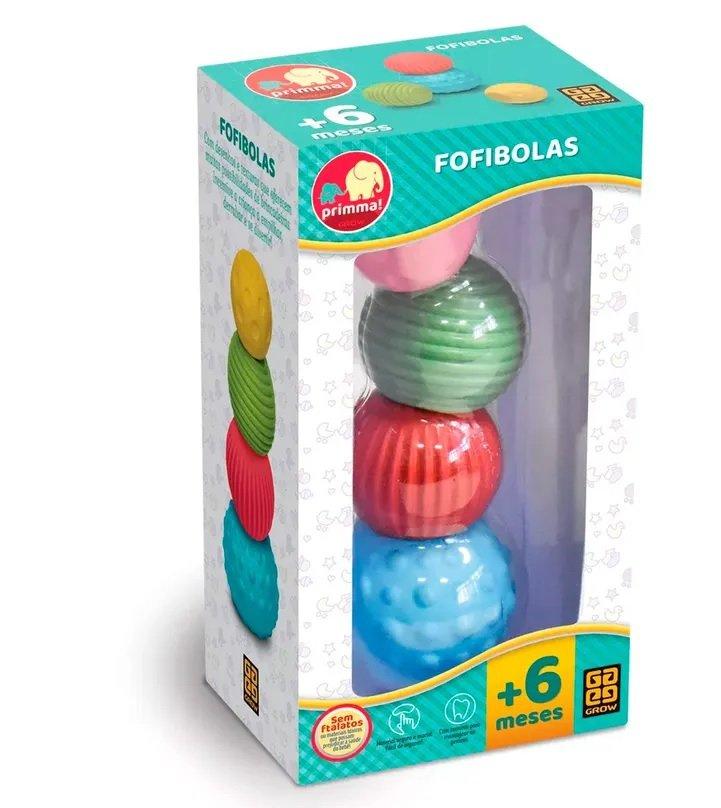 Brinquedo para Bebê Fofibolas - Grow 3420