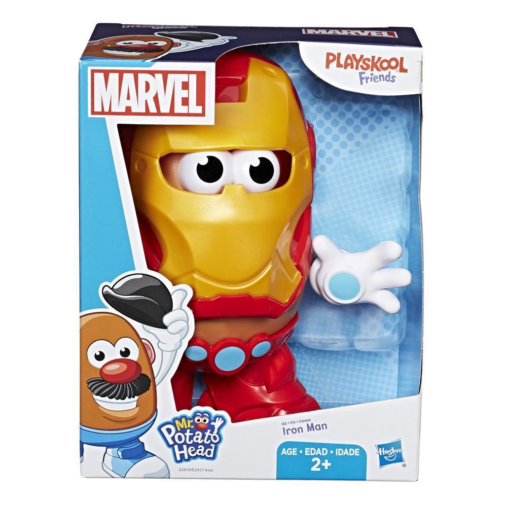Cabeça De Batata Marvel Homem De Ferro E2419/E2417 - Hasbro