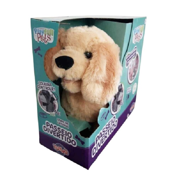 Cachorro Controle Remoto Caramelo  Play Full Pets - Toyng  37212