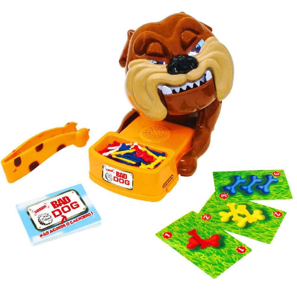 Cachorro Interativo Bad Dog - Polibrinq 2334