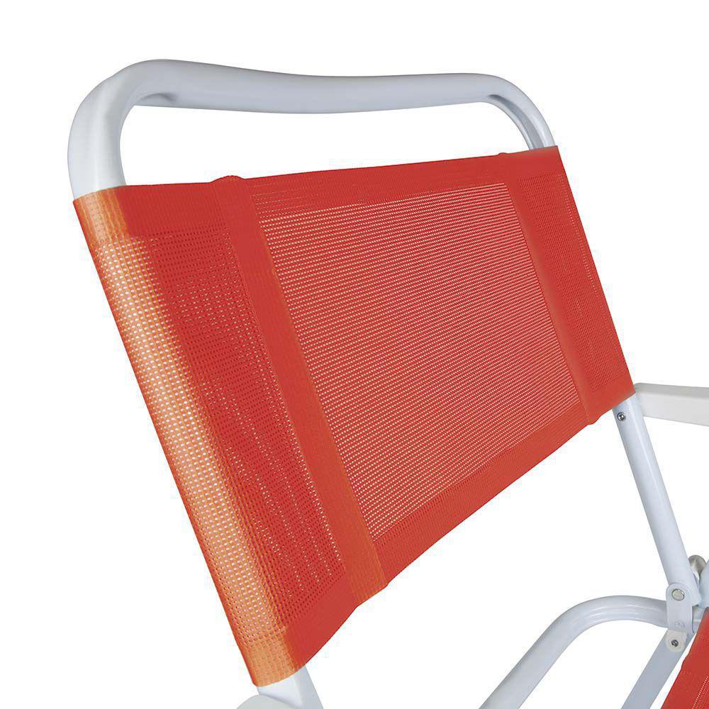 Cadeira Master Aço Fashion Coral - Mor 2029
