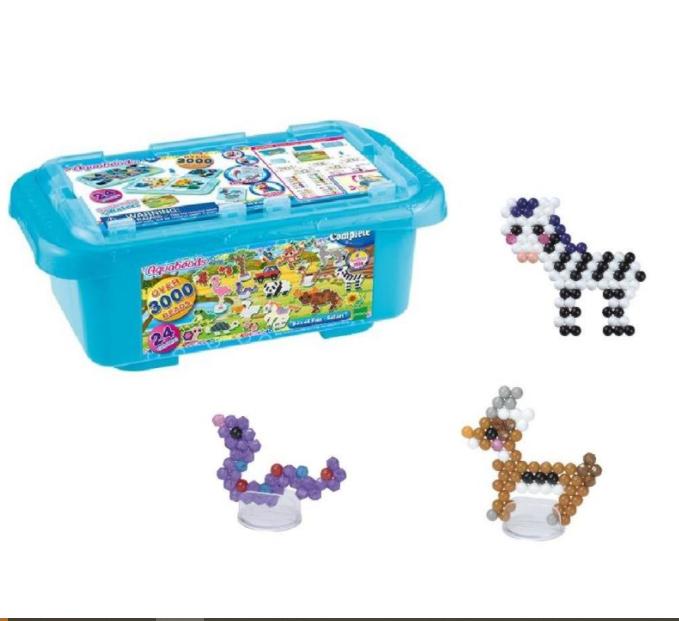 Caixa Aquabeads Box of Fun Safari - Epoch 32808