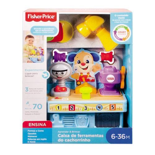 Caixa De Ferramentas Do Cachorrinho Fisher Price GFX37 Mattel