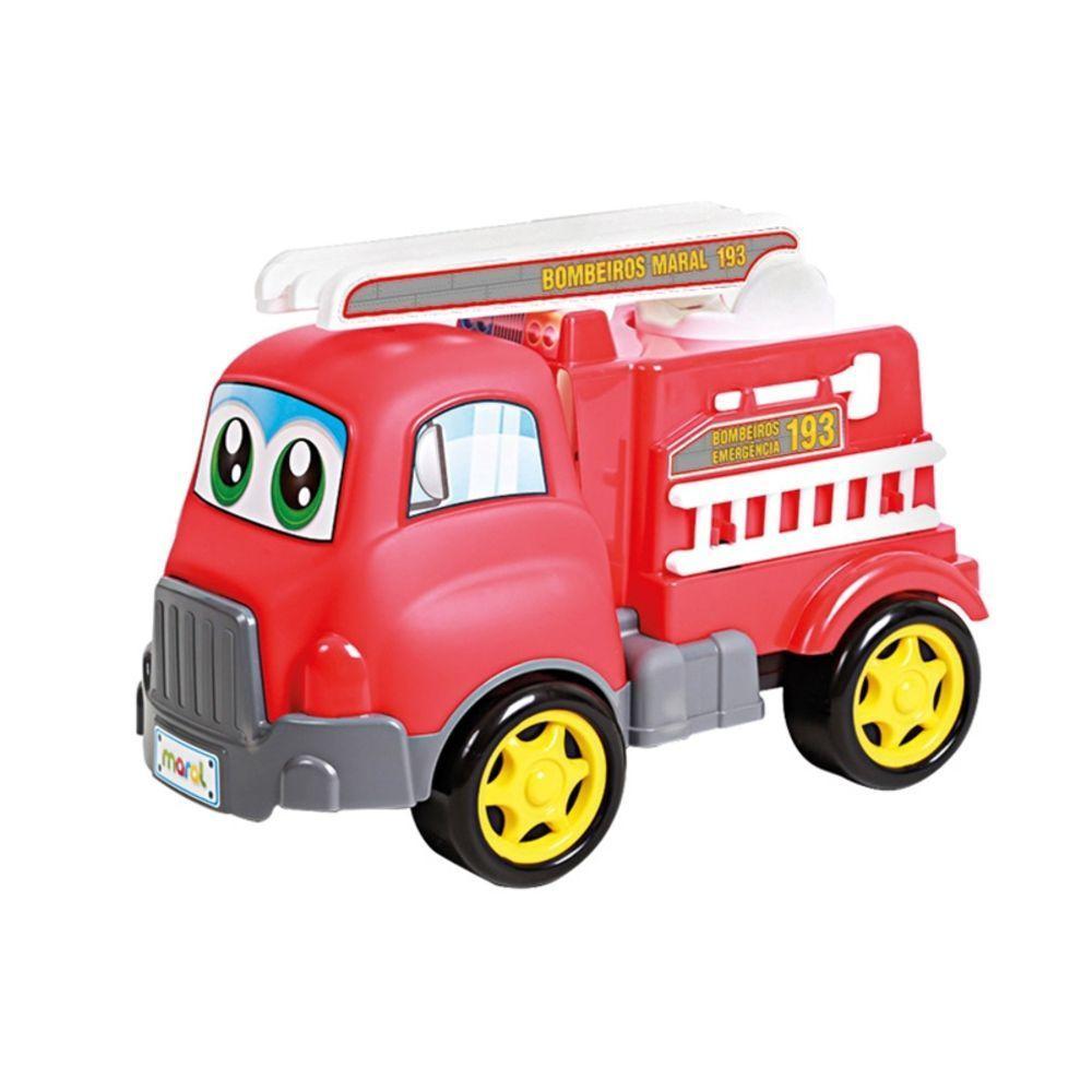 Caminhão Bombeiros Turbo Truck - Maral 4120