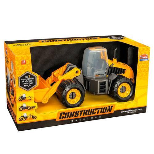 Caminhão Construction Machine Master Sx 130 305 - Usual Brinquedos