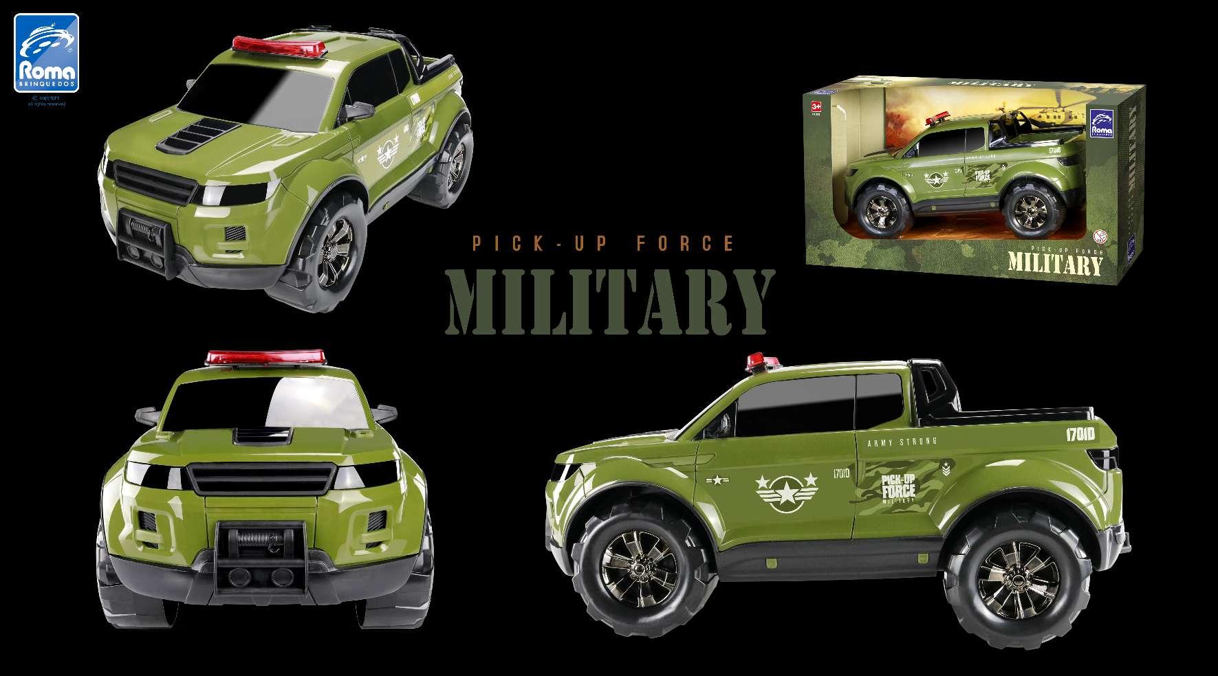 Caminhonete Pick-Up Force Military - Roma 993