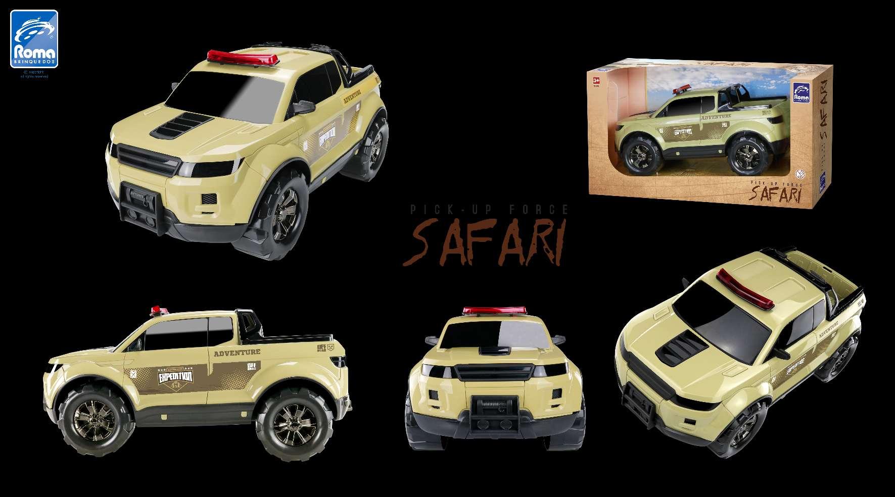 Caminhonete Pick- Up Force  Safari - Roma 994