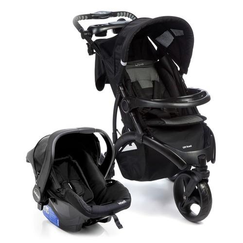 Carrinho de Bebê Travel System Duo Onyx - Infanti CAX90252