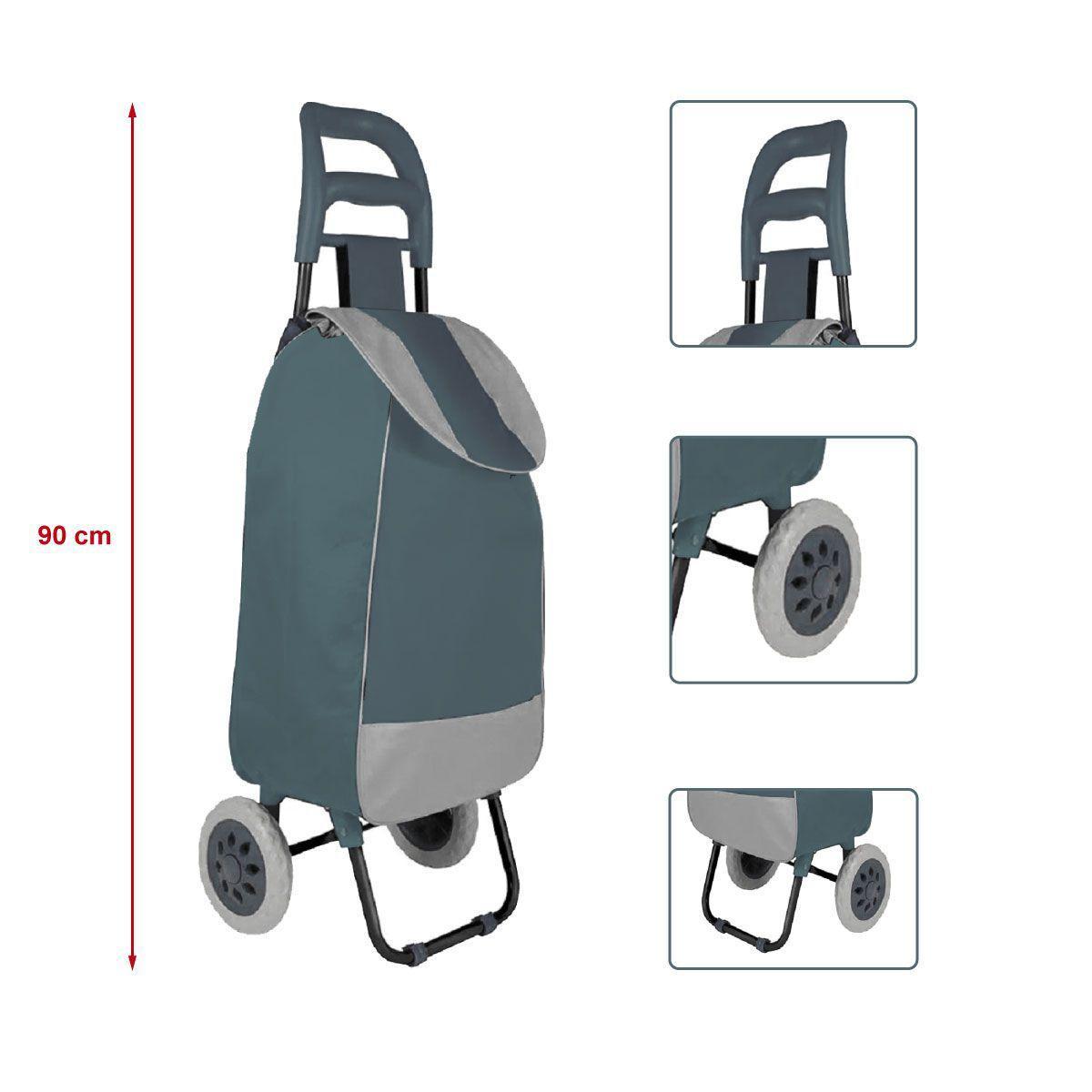 Carrinho de Compras Leva Tudo Bag To Go Cinza - Mor 2498