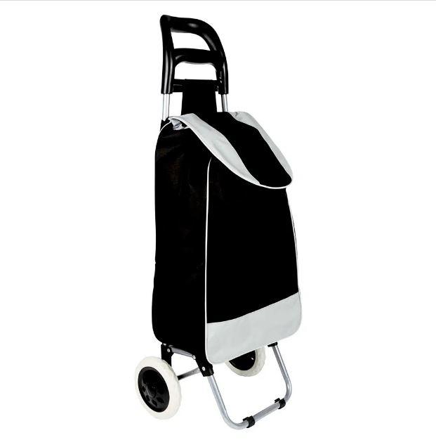 Carrinho de Compras Leva Tudo Bag To Go Preto - Mor 2497