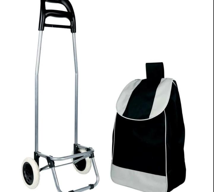 Carrinho de Compras Leva Tudo Bag To Go Preto - Mor 2498