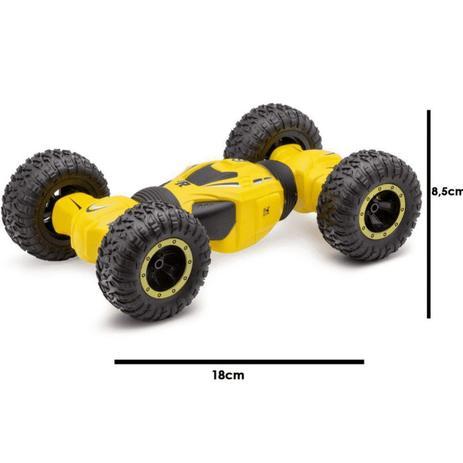 Carrinho de controle remoto Twistcar Amarelo - Polibrinq CAR503