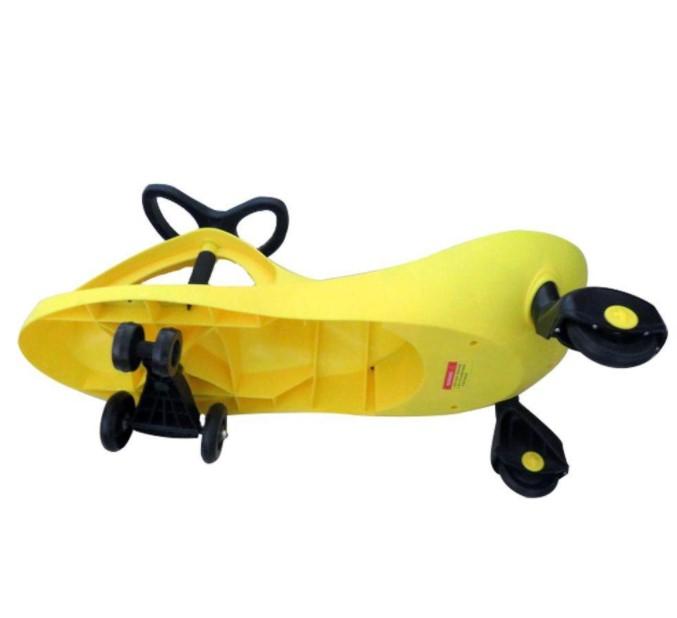 Carrinho Gira Gira Car Amarelo suporta até 100 Kg - Fenix GXT 405