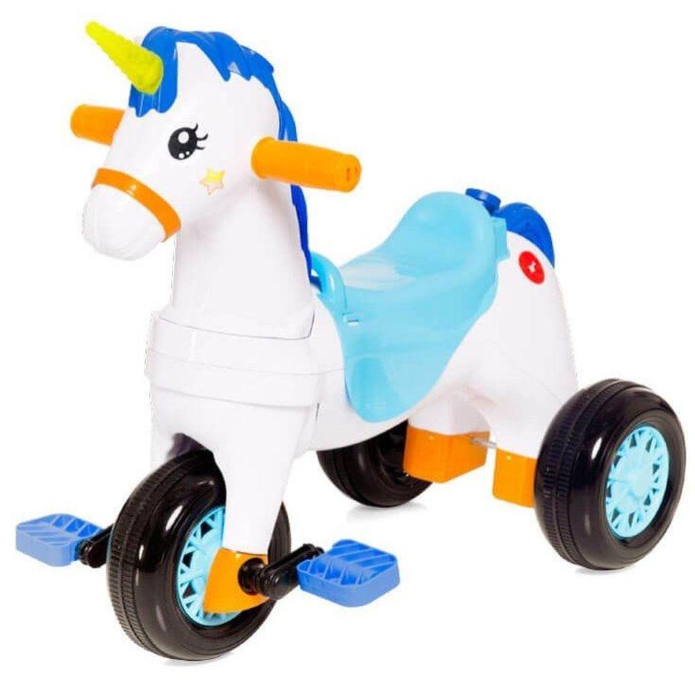 Carrinho Motoca Triciclo Fantasy Azul 1002- Calesita