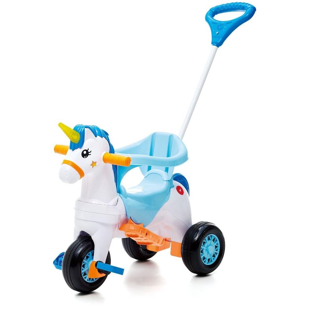 Carrinho Motoca Triciclo Fantasy Azul - Calesita 1002