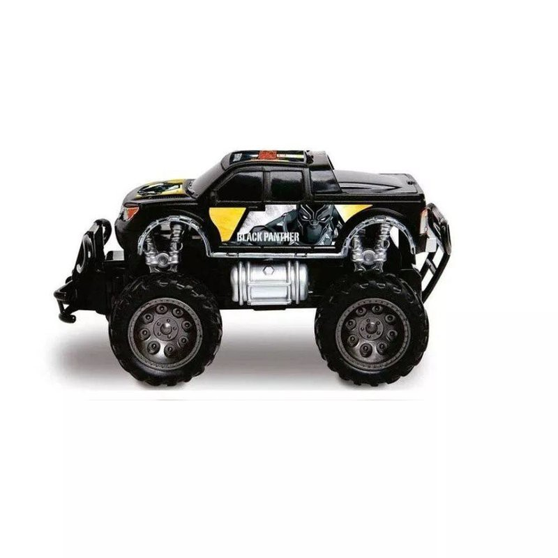 Carro Controle Pick Up Cross Black Panter - Mimo 3278