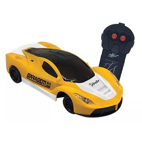 Carro De Controle Remoto Detonator Amarelo - Candide 3548