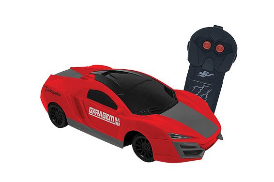 Carro De Controle Remoto Detonator Laranja - Candide 3548