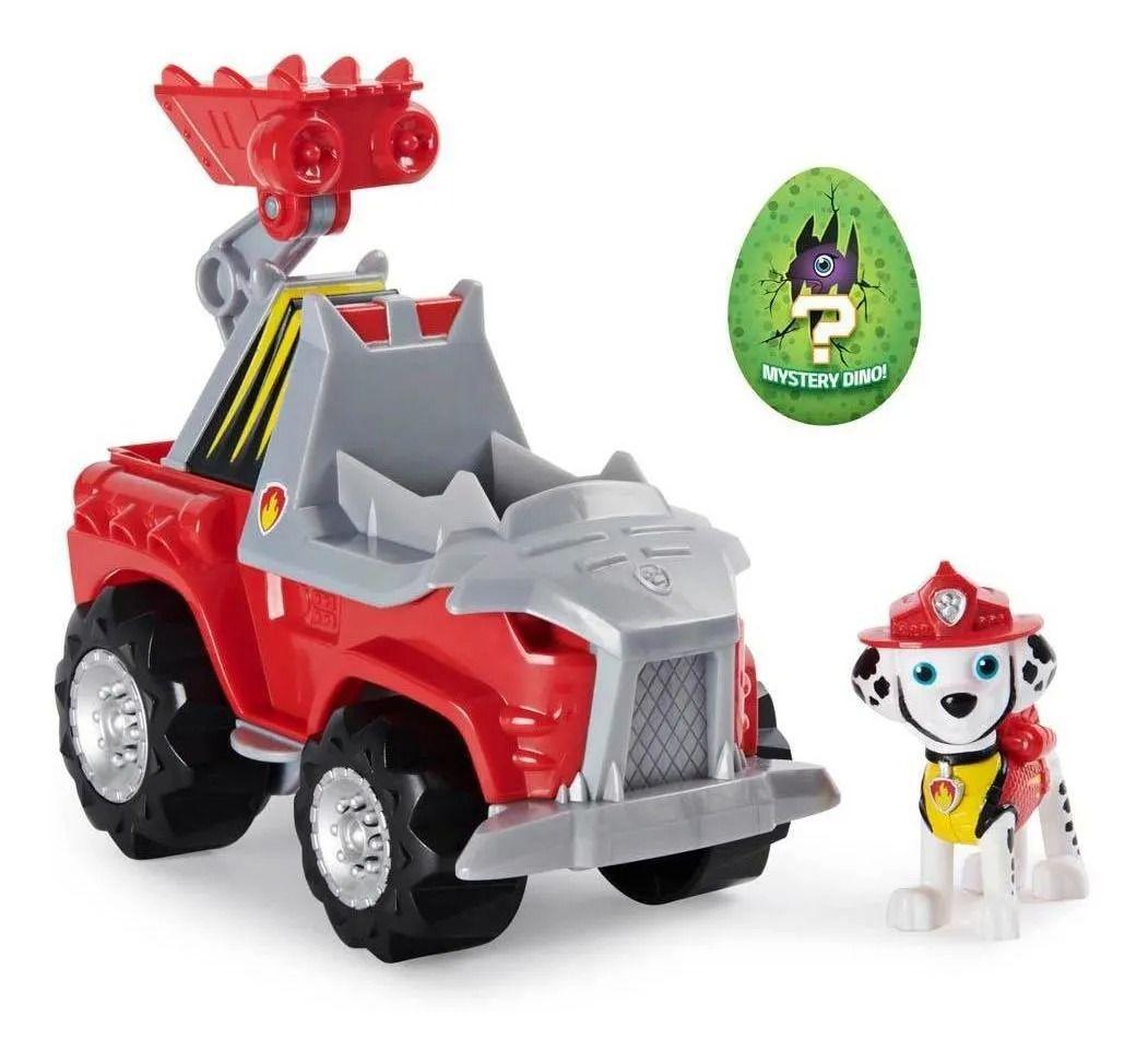 Carro e Figura Patrulha Canina Dino Rescue Marshal - Sunny 1499