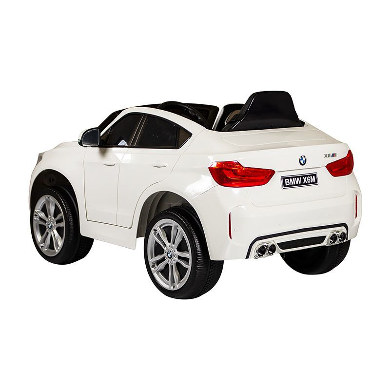 Carro Elétrico Infantil BMW X6 Branca R/C 6V 2623 - Bandeirante