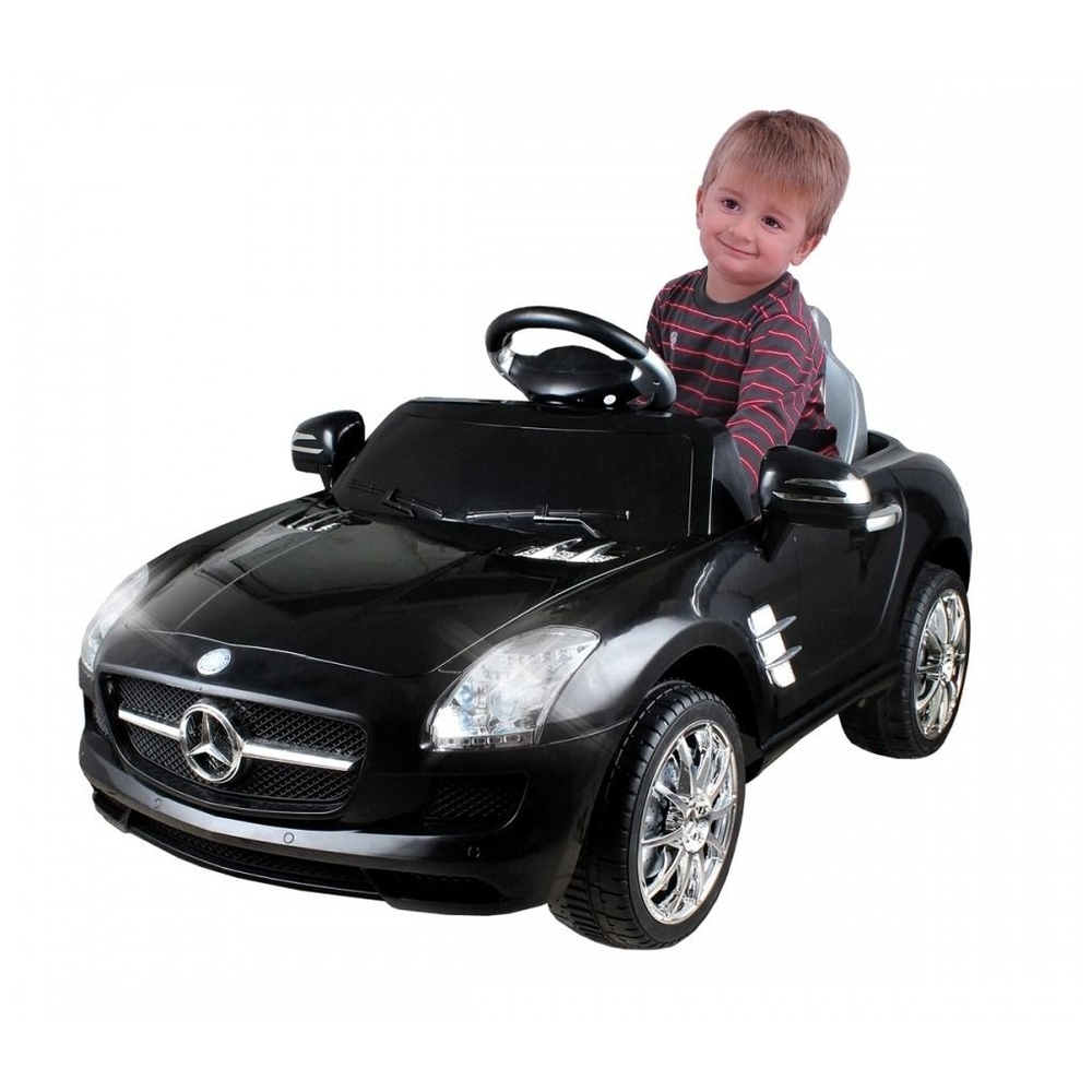 Carro  Elétrico Mercedes Benz preto 6 volts - Xalingo 07022