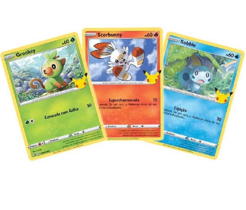 Carta Pokemon Blister Gigante Galar - Copag 85395