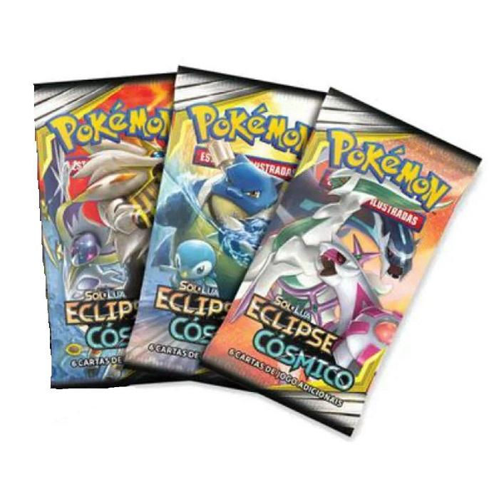 Carta Pokemon Sl12 Blister Triplo Eclipse Cosmico - Copag 99579
