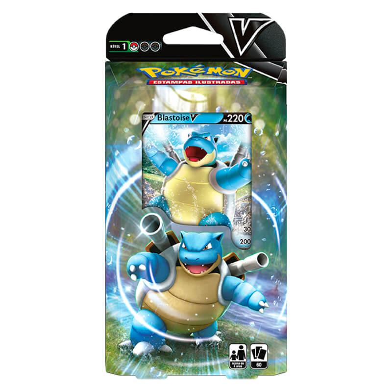 Cartas Pokemon  Baralho Batalha V: Blastoise V - Copag 88842