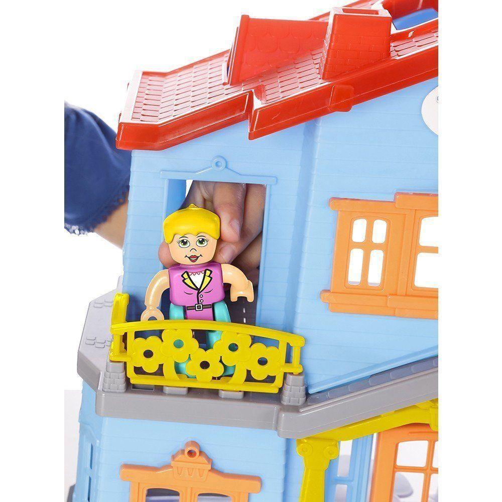 Casinha de Bonecas Sweety Home Azul  1158 - Maral