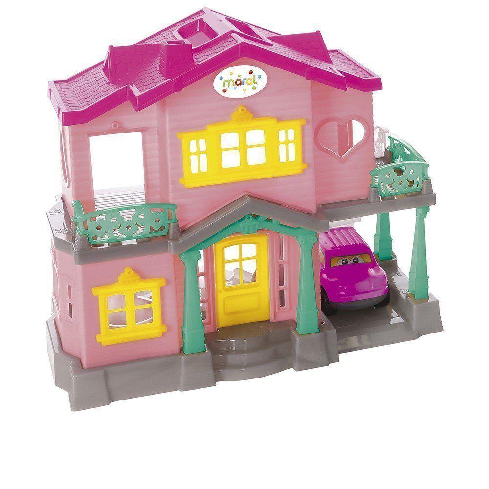 Casinha de Bonecas Sweety Home Rosa 1175 - Maral