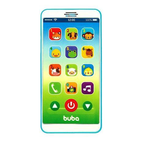 Celular Infantil Baby Phone Azul - Buba 6841
