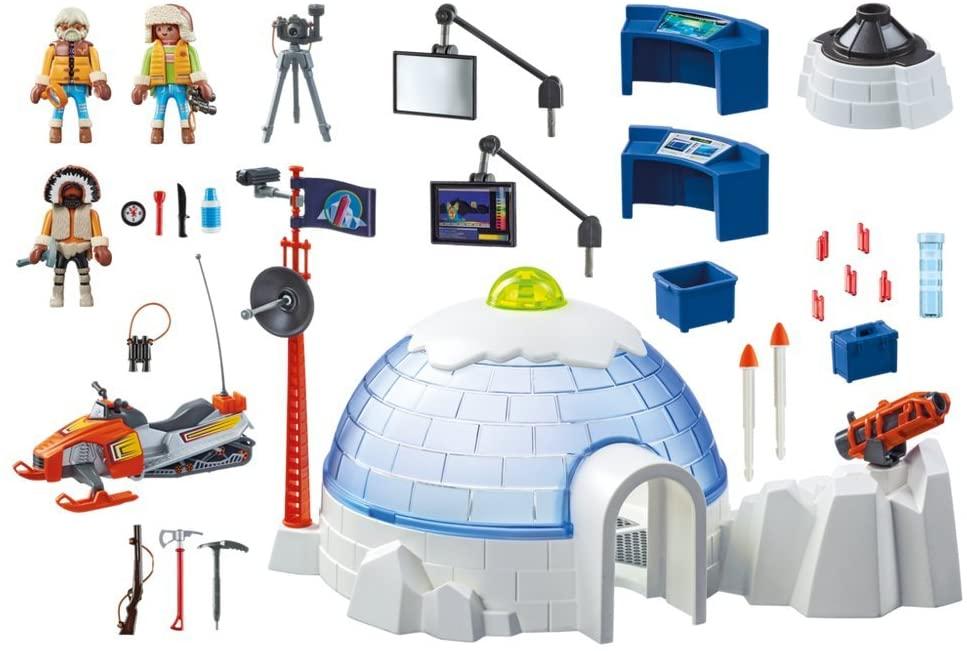 Central da Expedição Polar Playmobil - Sunny 1711