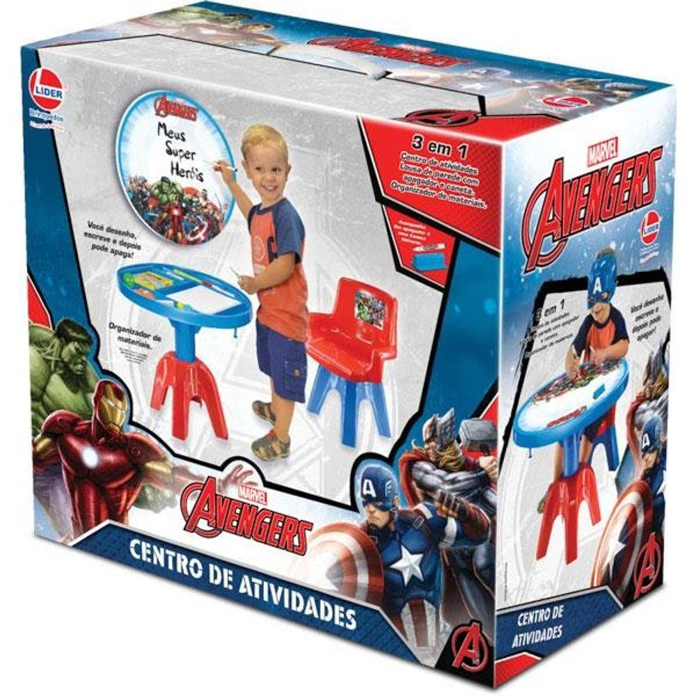 Centro de Atividades Marvel Avengers - Líder 2395
