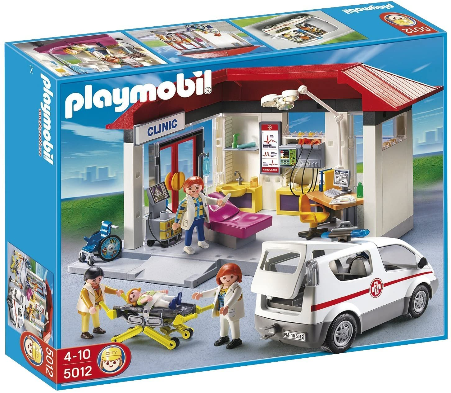 Centro Médico com Ambulância Playmobil - Sunny 1784
