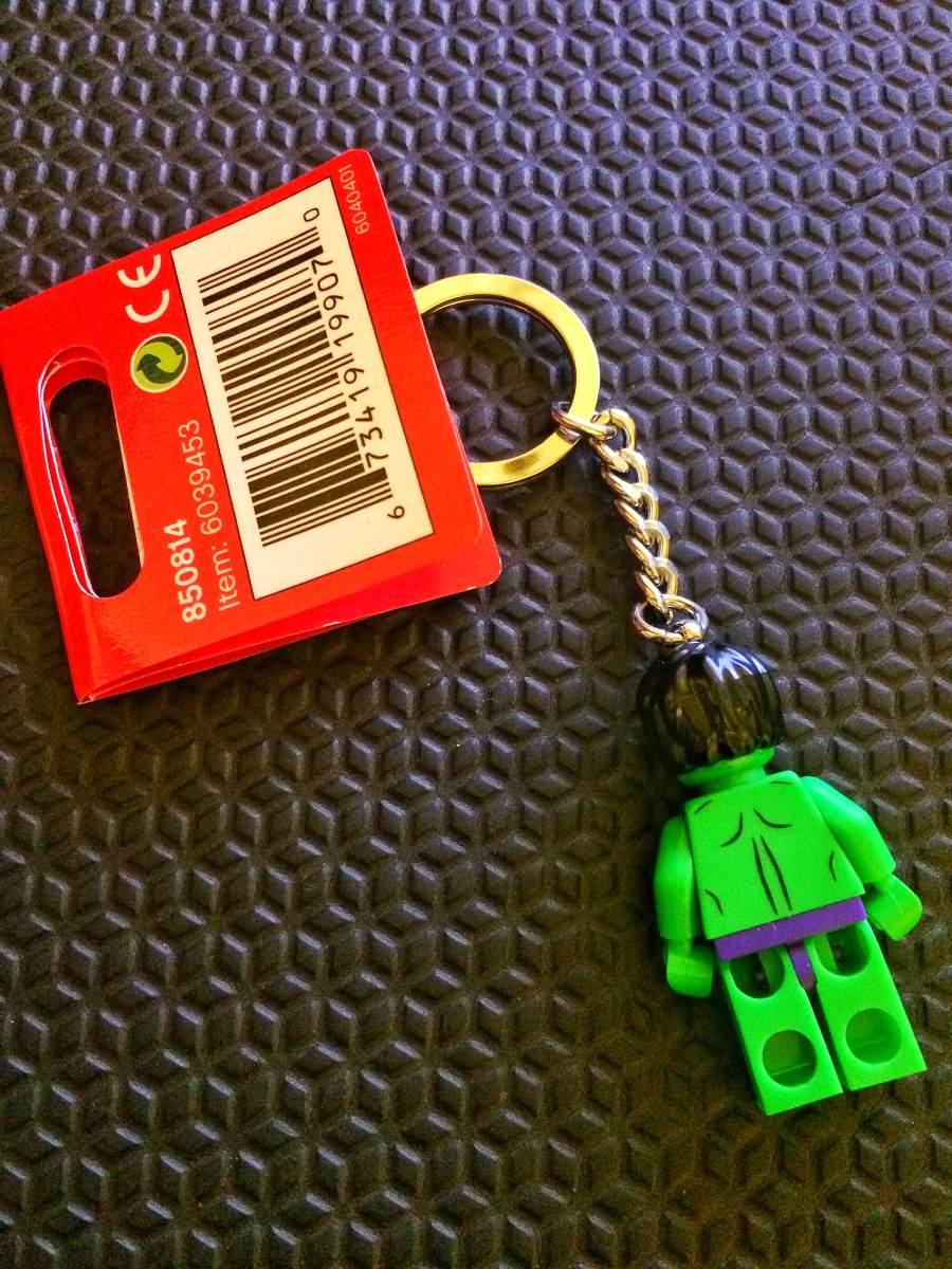 Chaveiro Lego Super Heroes Hulk - 850814