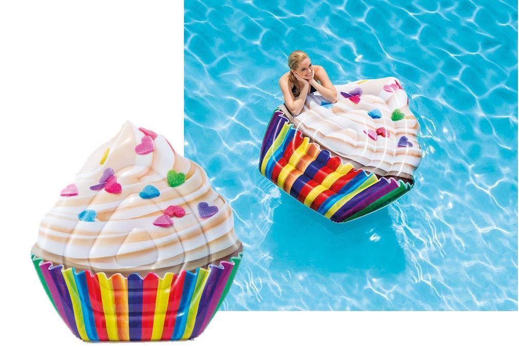 Colchão inflável para piscina Cupcake - Intex 58770