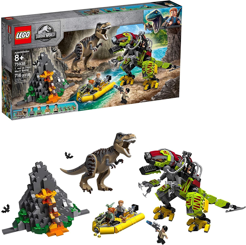 Combate T.rex vs Robô Dinossauro - Lego 75938