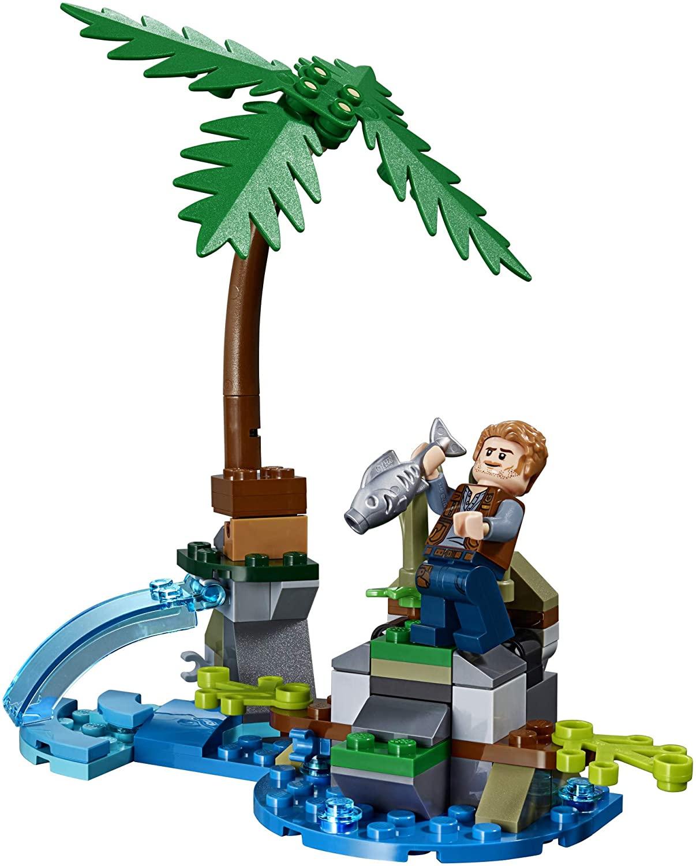 Confronto de Baryonyx A Caça ao Tesouro - Lego 75935
