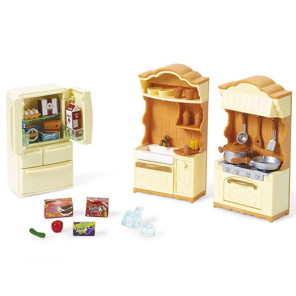 Conjunto Cozinha e Acessórios Sylvanian Families - Epoch 5341
