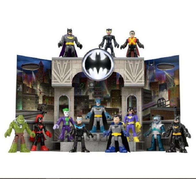 Conjunto Imaginext Batman Gotham City Pop Up - Mattel GNN43