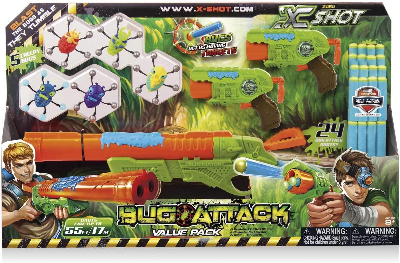 Conjunto Lançador Bug Attack Value Pack Double- Candide 5508